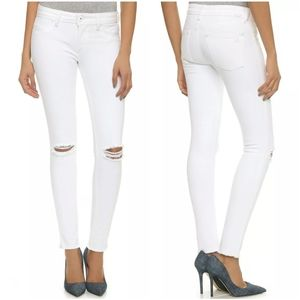 DL1961 The Emma Legging Jeans 27 Dove White